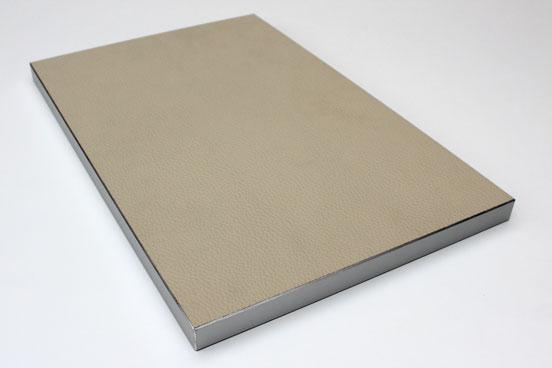 MSM Vakuumpresse Leder Metall Kante