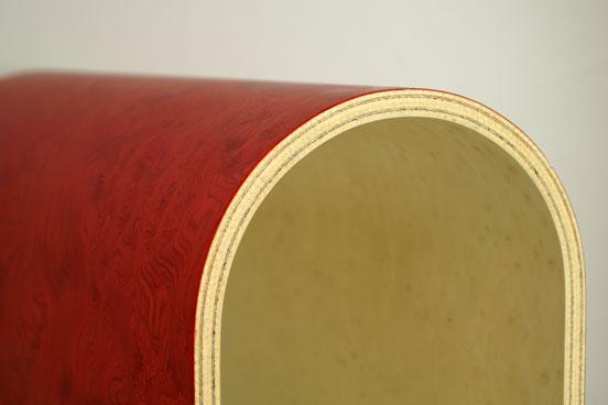 MSM Vakuumpresse Formverleimung Furnier Biegesperrholz