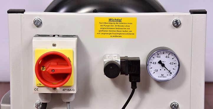 MSM Vakuumpresse Druckdifferenzschalter