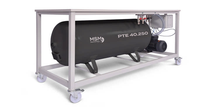 MSM Vakuumpumpe Tank