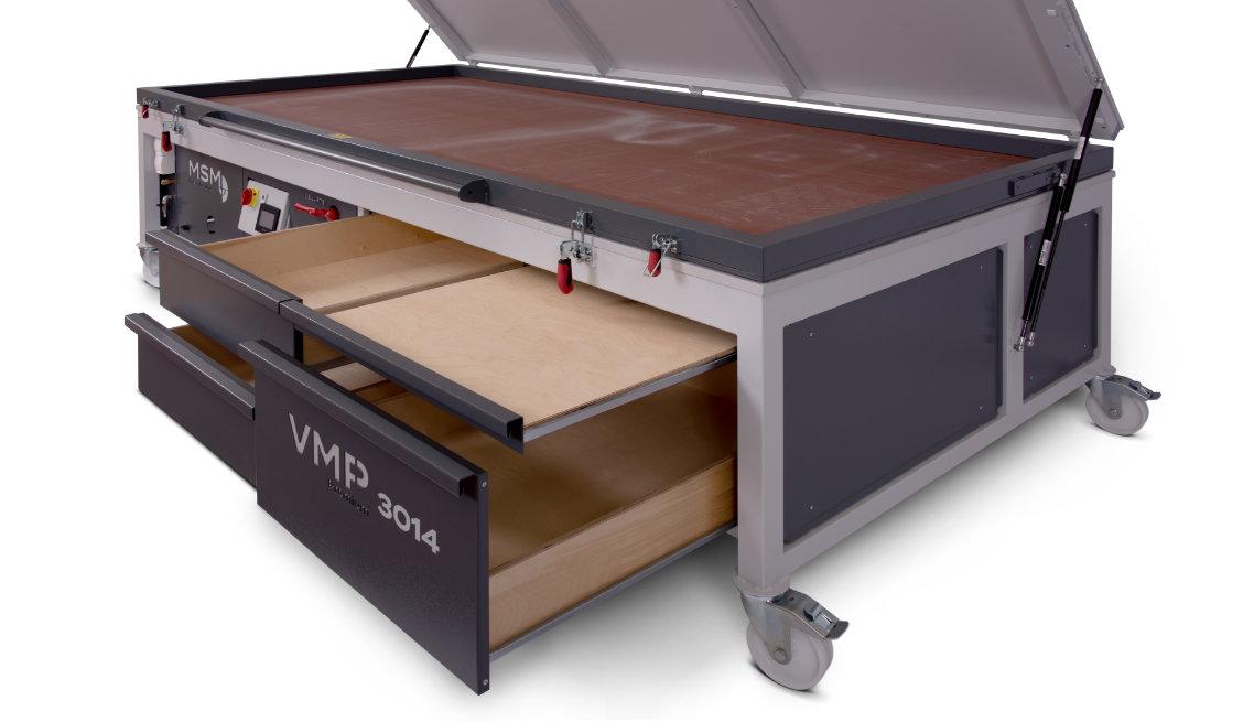 MSM Vakuumpresse VMP Premium 3014 Schubkasten