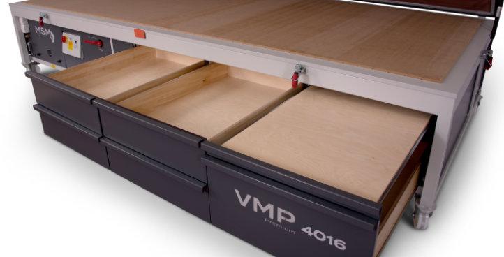 MSM Vakuumpresse VMP Premium 4016 Schubkasten