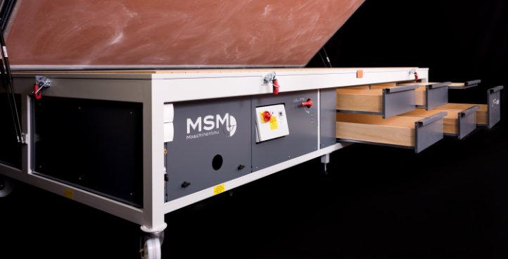 MSM Vakuumpresse VMP Premium 4016 Schubkaesten